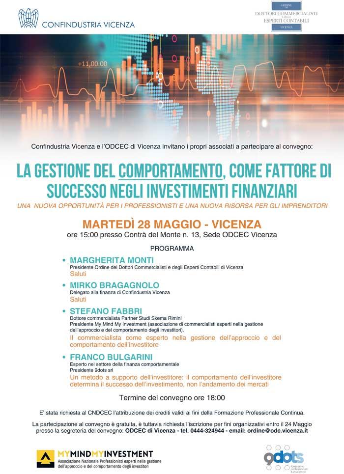 9 dots - Convegno a Vicenza presso ordine dei commercialisti e degli esperti contabili